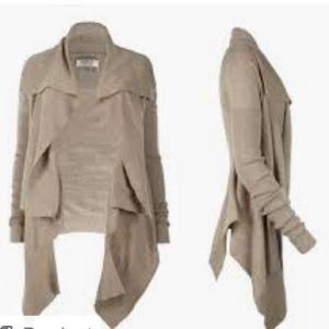 Allsaints jagger wool blend cardigan size 6